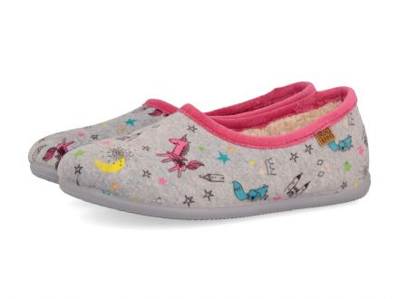 Gioseppo MULTI Indoor Shoe/Slipper (Grey) 35 only!
